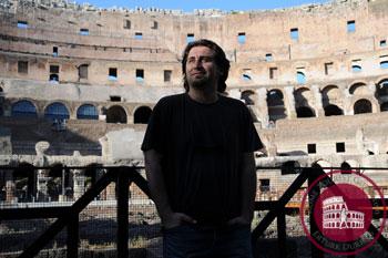 Rome tourist guide Erturk Durmus